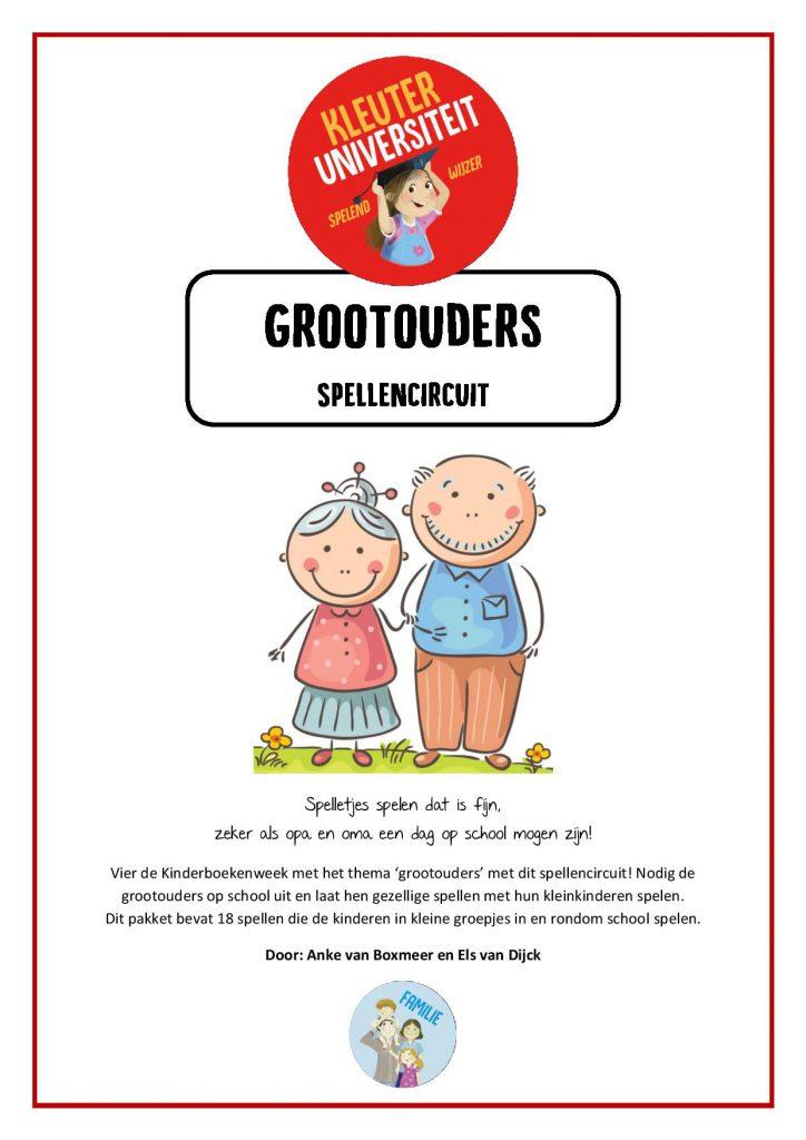 Thema Grootouders Opa En Oma Jufanke Nl Lesidee Kleuters