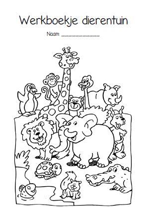 Thema Dieren En Dierentuin Juf Anke Lesidee Kleuters