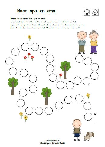 Genoeg thema grootouders | opa en oma | jufanke.nl lesidee kleuters @KK96