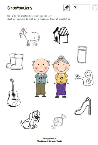 Beroemd thema grootouders | opa en oma | jufanke.nl lesidee kleuters #DJ48