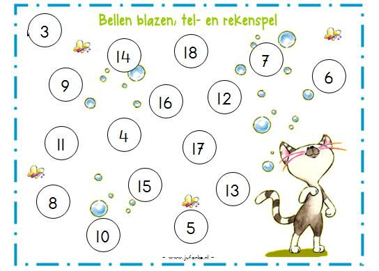 Populair Rekenen lesideeën & activiteiten | Juf Anke QZ73
