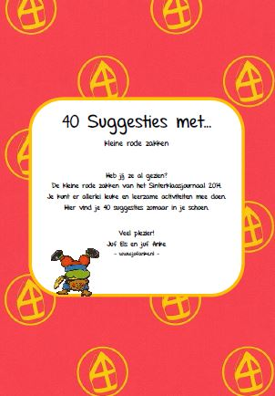 40 suggesties met...